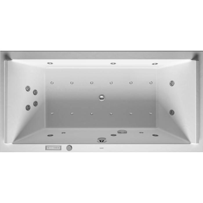 Duravit Starck Systeembad 309 liter Acryl 200x100 cm Wit