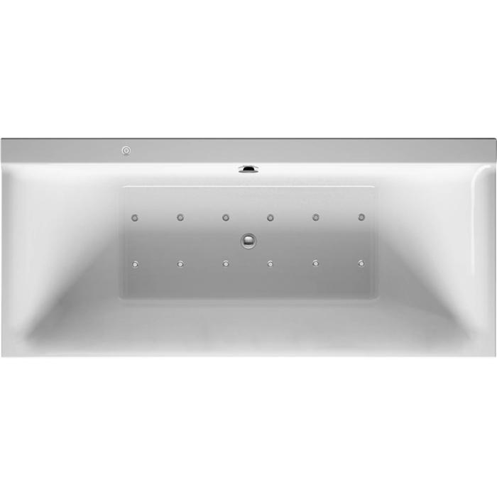 Duravit P3 Comforts Systeembad 186 liter Acryl 180x80 cm Wit