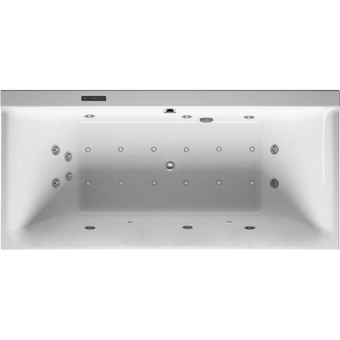 Duravit P3 Comforts Systeembad 250 liter Acryl 190x90 cm Wit