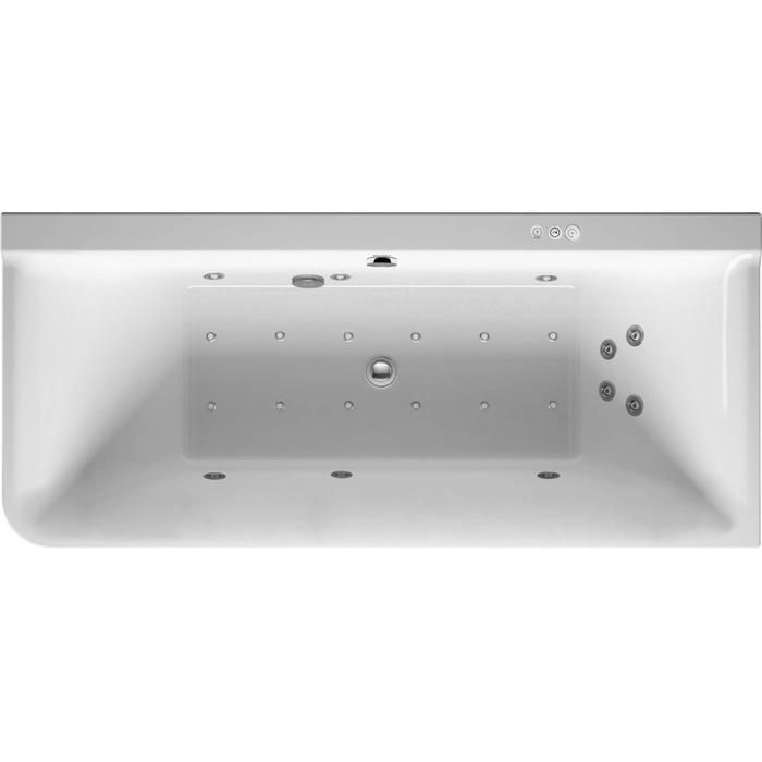 Duravit P3 Comforts Systeembad 184 liter Acryl 180x80 cm Wit