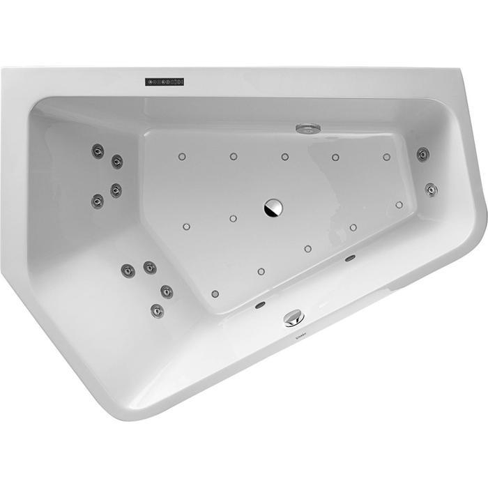 Duravit Paiova Systeembad 267 liter Acryl 190x140 cm Wit