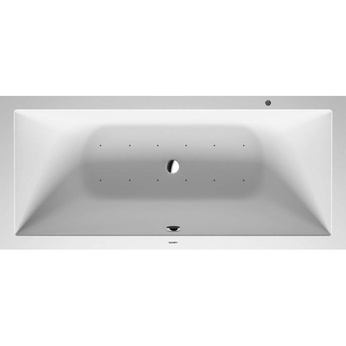 Duravit DuraSquare Systeembad 170 liter Solid Surface 180x80 cm Wit