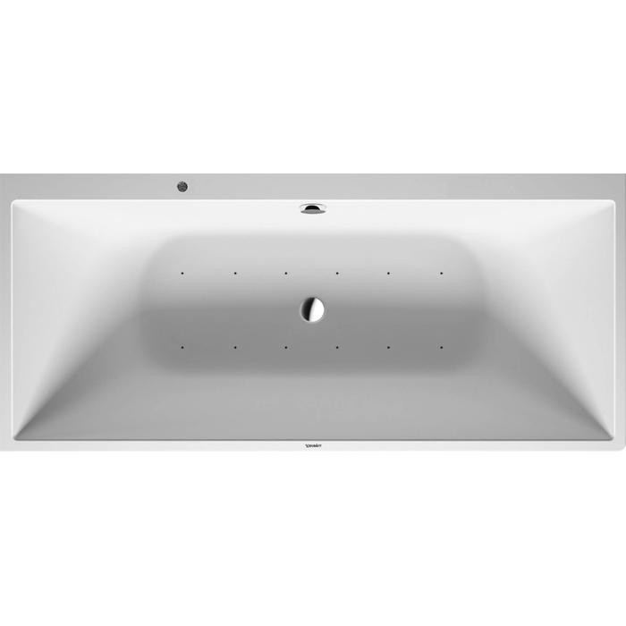 Duravit DuraSquare Systeembad 195 liter Solid Surface 180x80 cm Wit