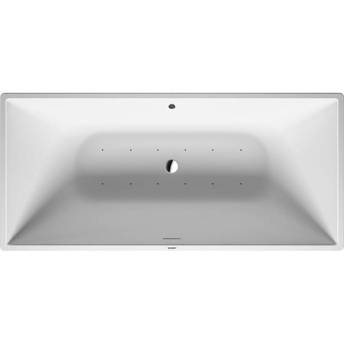 Duravit DuraSquare Systeembad 250 liter Solid Surface 185x95 cm Wit