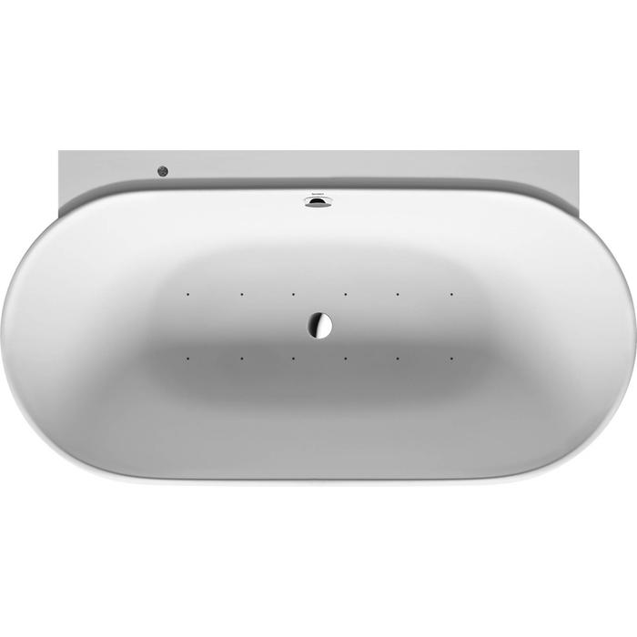 Duravit Luv Systeembad 252 liter Solid Surface 180x95 cm Wit