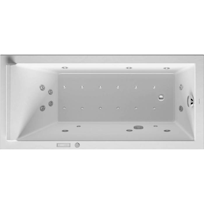 Duravit Starck Systeembad 121 liter Acryl 150x70x48 cm Wit