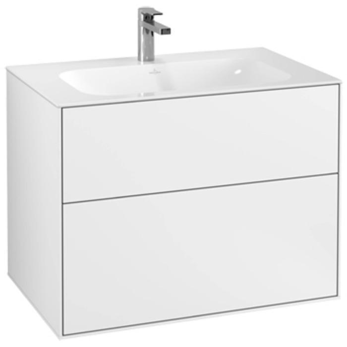 Villeroy & Boch Finion Wastafelonderkast 79,6x49,8x59,1 cm White Matt Lacquer