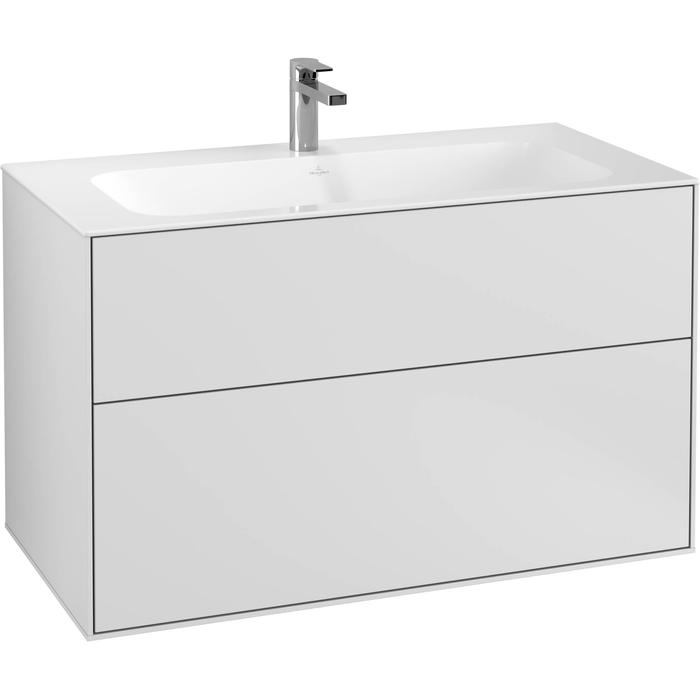 Villeroy & Boch Finion Wastafelonderkast 99,6x49,8x59,1 cm White Matt Lacquer