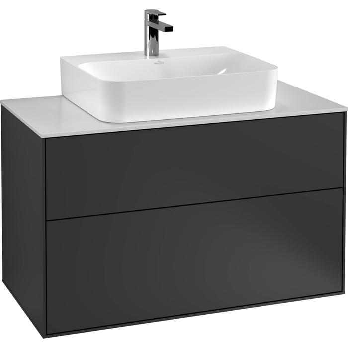 Villeroy & Boch Finion Wastafelonderkast 100x50,1x60,3 cm Cedar