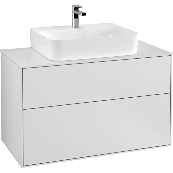 Villeroy & Boch Finion Wastafelonderkast 100x50,1x60,3 cm White Matt Lacquer