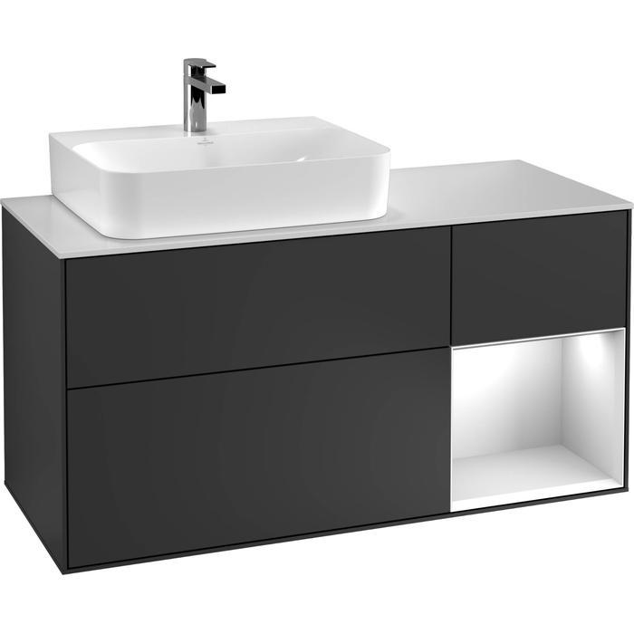 Villeroy & Boch Finion Wastafelonderkast 120x50,1x60,3 cm Glossy White Lacquer