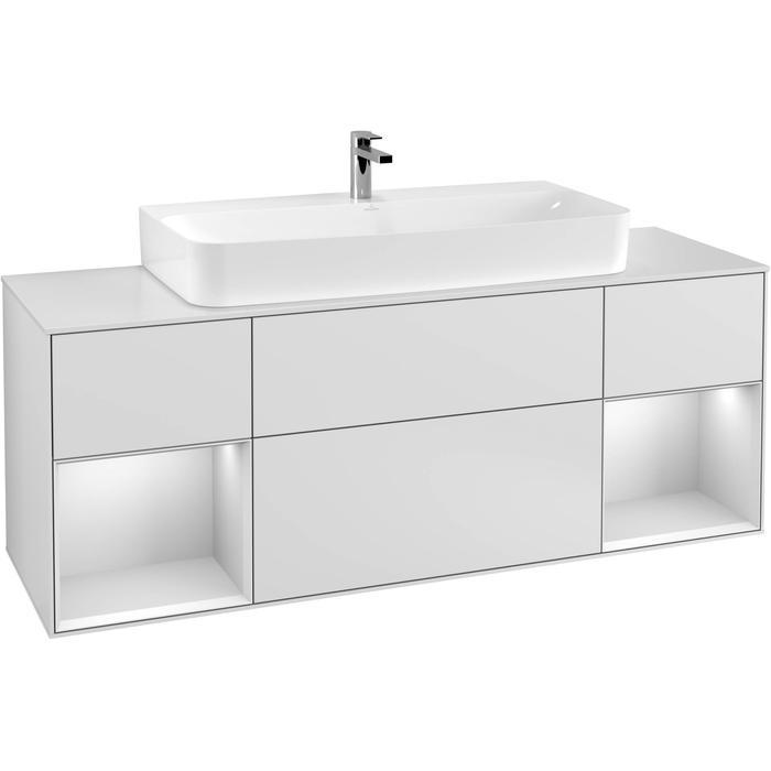 Villeroy & Boch Finion Wastafelonderkast 160x50,1x60,3 cm White Matt Lacquer