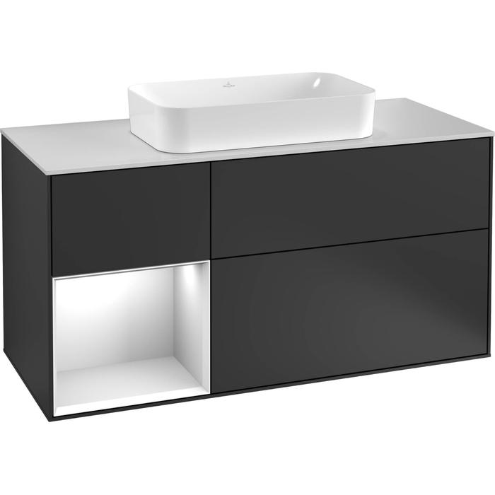 Villeroy & Boch Finion Wastafelonderkast 120x50,1x60,3 cm Cedar