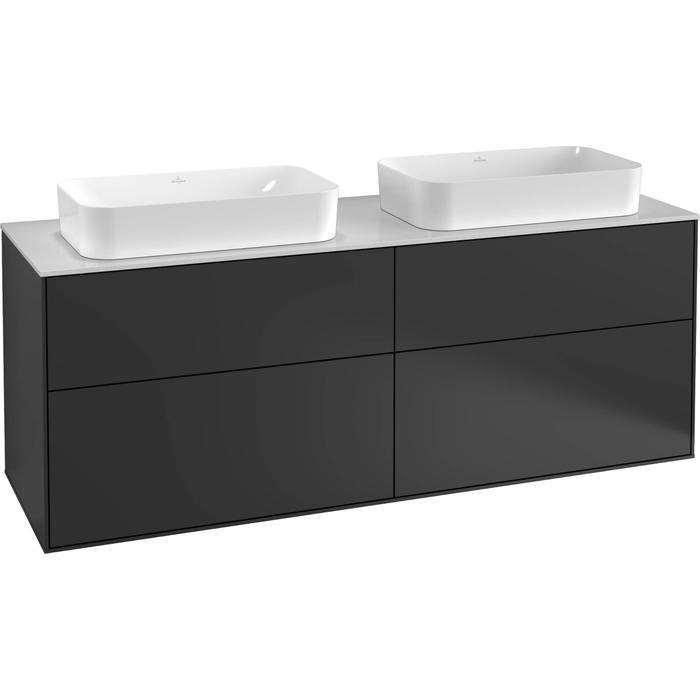 Villeroy & Boch Finion Wastafelonderkast 160x50,1x60,3 cm Light Grey Matt