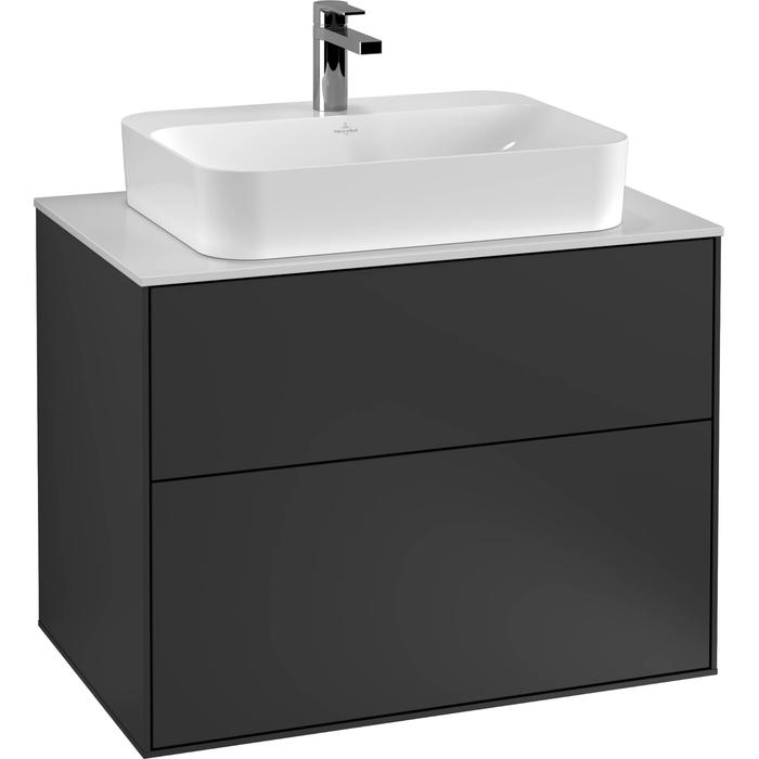 Villeroy & Boch Finion Wastafelonderkast 80x50,1x60,3 cm Cedar