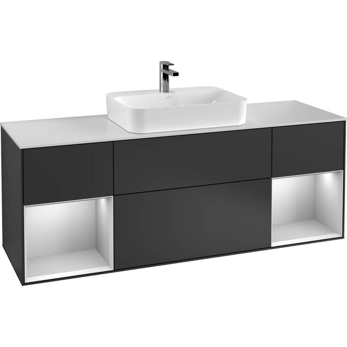 Villeroy & Boch Finion Wastafelonderkast 160x50,1x60,3 cm Cedar
