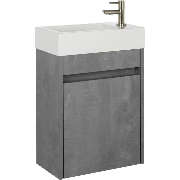 Saqu Florence fonteinmeubelset beton grijs rechts