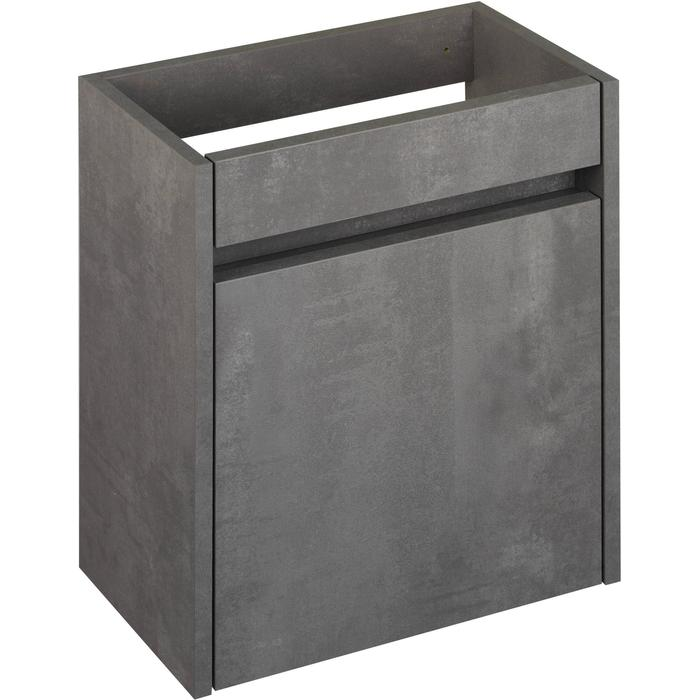 Saqu Florence Fonteinonderkast 40x21,8x50 cm Beton Grijs