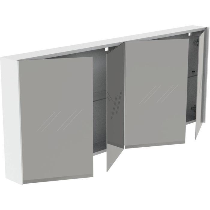 Thebalux Frozen Spiegelkast 65x160x13,5 cm Antraciet Mat lak