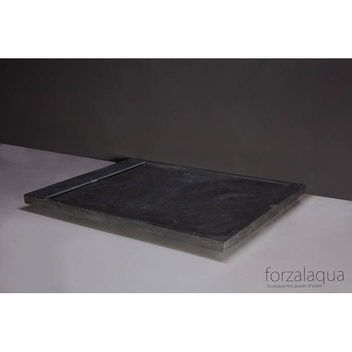 Forzalaqua Fresco Douchebak Natuursteen 120x90x5 cm  Hardsteen gezoet