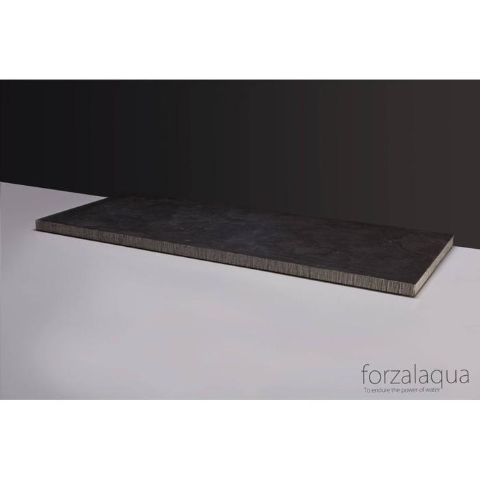 Forzalaqua Plateau 60,5 x 51,5 x 3,0 cm Hardsteen gefrijnd