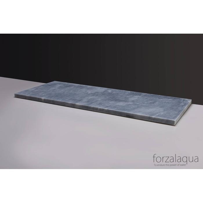 Forzalaqua Plateau 100,5x51,5x3 cm Cloudy marmer gezoet