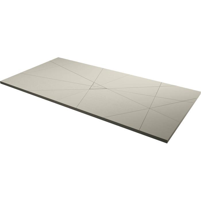 Acquabella Smart Fusion Douchevloer 90x140x3 cm Beige