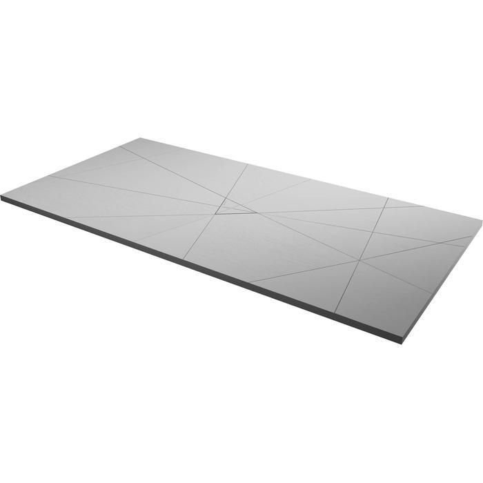 Acquabella Smart Fusion Douchevloer 90x100x3 cm Marfil