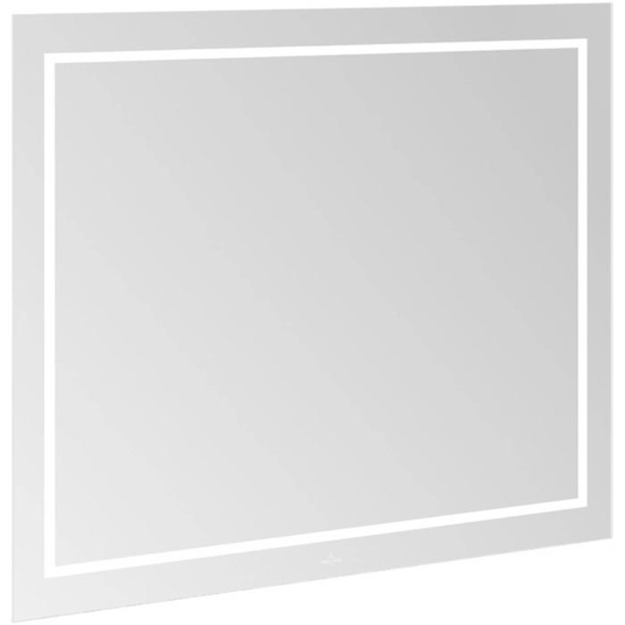Villeroy & Boch Finion Spiegel met LED en Bluetooth 100x75 cm
