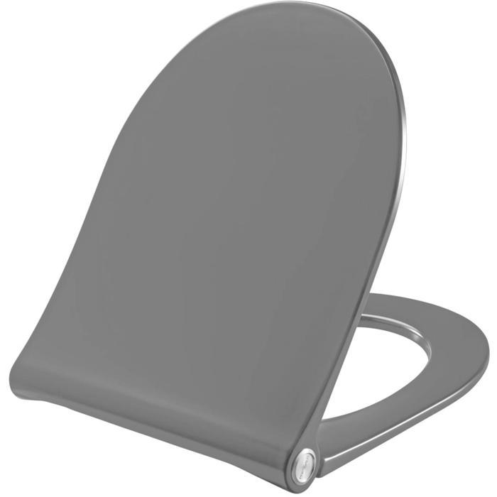 Pressalit Sway D Closetzitting Softclose & Quickrelease 35,9x45,4 cm Antraciet