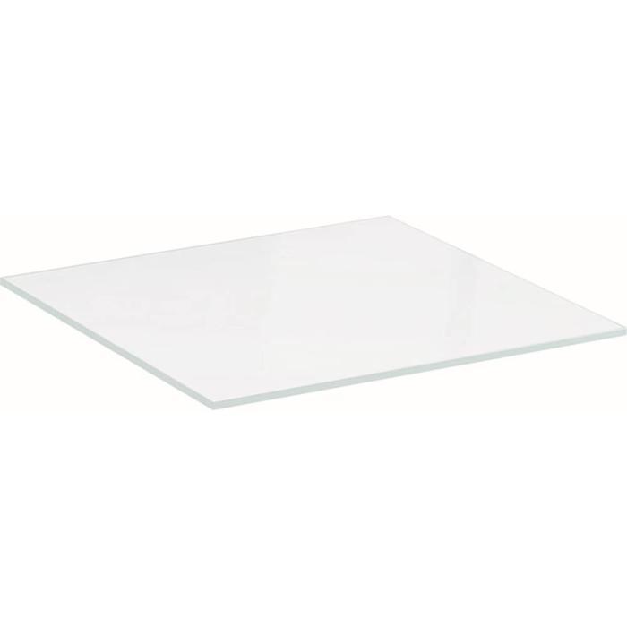 Geberit Xeno2 Glasplaat 45x45x0,8 cm Transparant