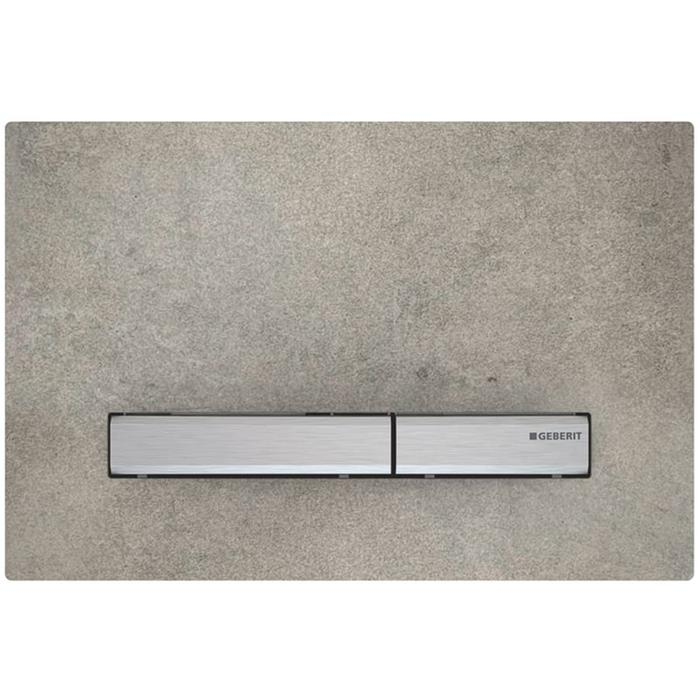 Geberit Sigma 50 drukplaat chroom/betonlook tbv UP720, UP320 en UP300