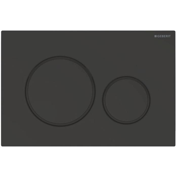 Geberit Sigma 20 drukplaat mat zwart tbv UP720, UP320 en UP300