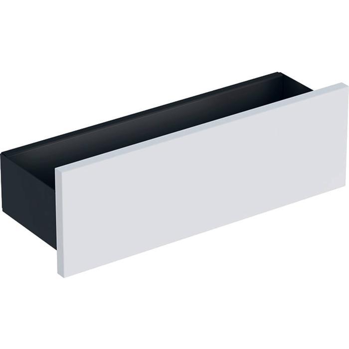 Geberit Smyle Planchet 45x15x14,8 cm Lava - Hoogglans Wit