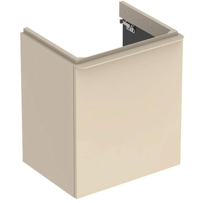 Geberit Smyle Wastafelonderkast 53,6x43,3x61,7 cm Zandgrijs