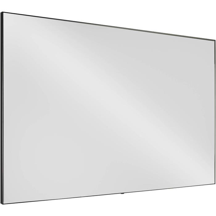 Ben Gravite Spiegel 120x70 cm mat zwart