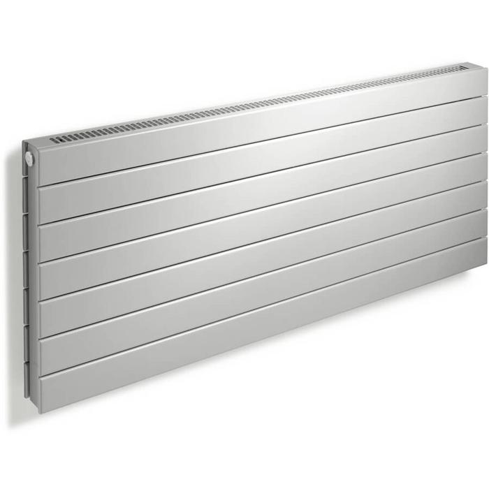 Vasco Viola Horizontaal H2L2-RO radiator as=0112 87x90cm 2046W Platina Grijs