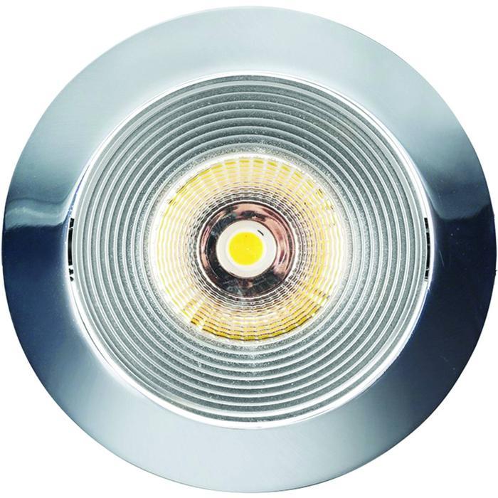 Spot rond chroom LED