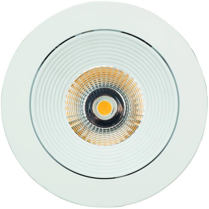 Luxalon Spot LED rond incl. driver wit