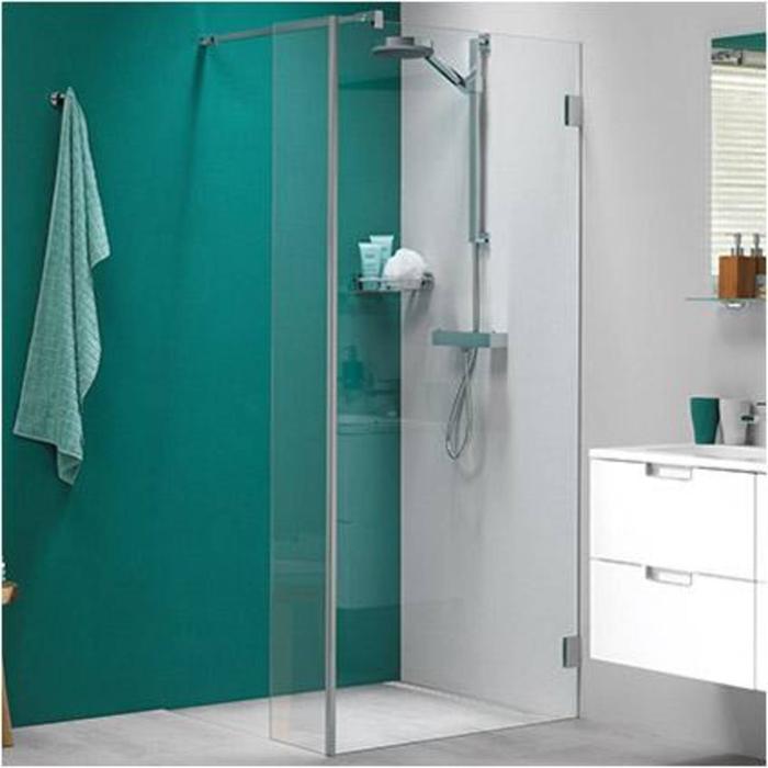 Get Wet by Sealskin I Am Inloopdouche type A1 met zijpaneel 100+30x200cm Chroom/Helder glas