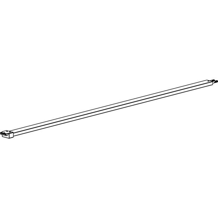 Sealskin SOHO Stabilisatiesteun 100cm voor vrijstaande montage Mat Zwart