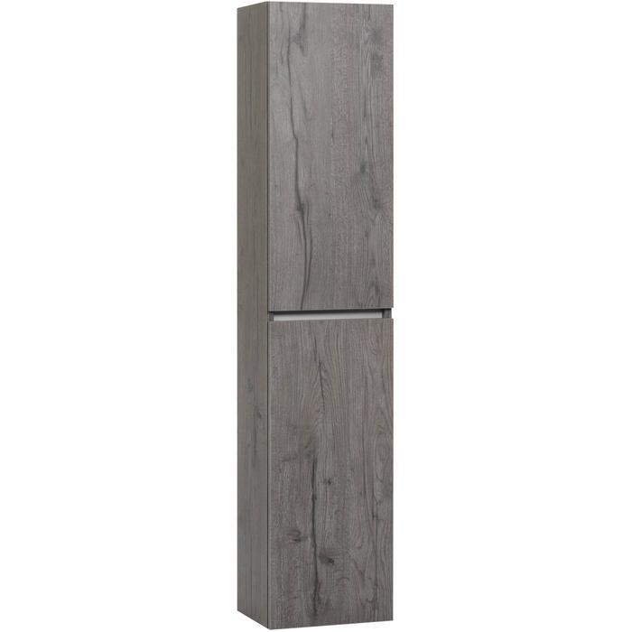 Ben Limara Hoge kast Rechts, 35x29x165 cm, Cape Elm/Aluminium