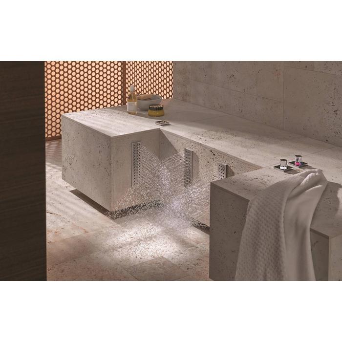 Dornbracht Leg Shower Water Bar Inbouwzijdouche Platina Mat