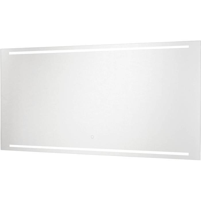 Ben Mytho spiegelpaneel met LED verlichting boven en onder 120x55 cm