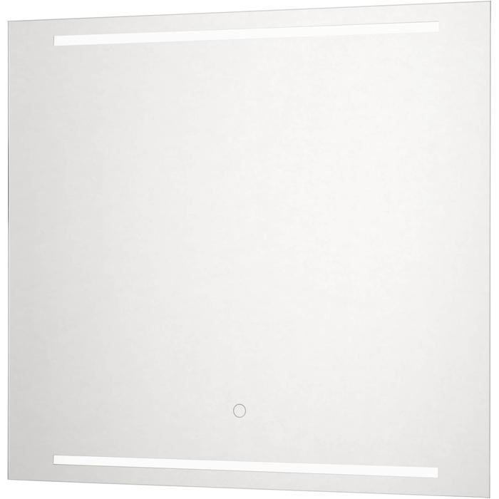 Ben Mytho spiegelpaneel met LED verlichting boven en onder 60x55 cm