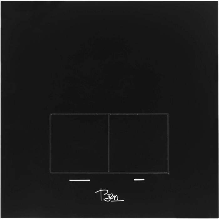 Ben Nemano bedieningspaneel 2-knops tbv BPF/BPSF mat zwart