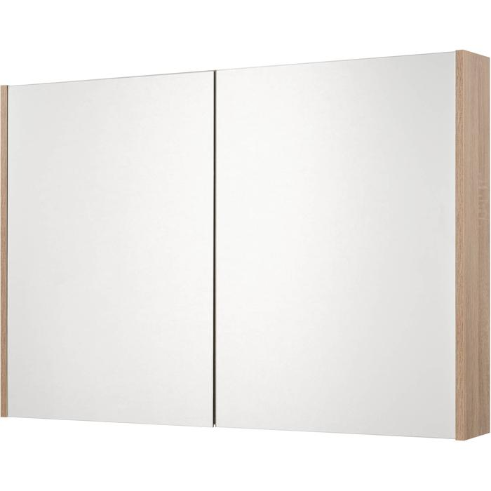 Saqu Salto Spiegelkast 100x70x14 cm bardolino eiken