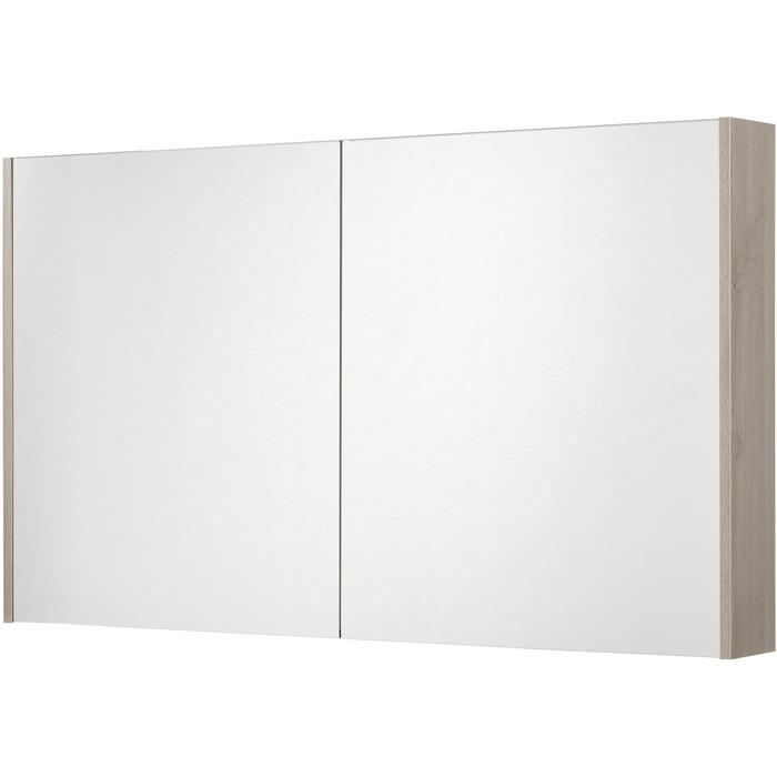 Saqu Salto Spiegelkast 2 deuren 120cm Litho Grijs