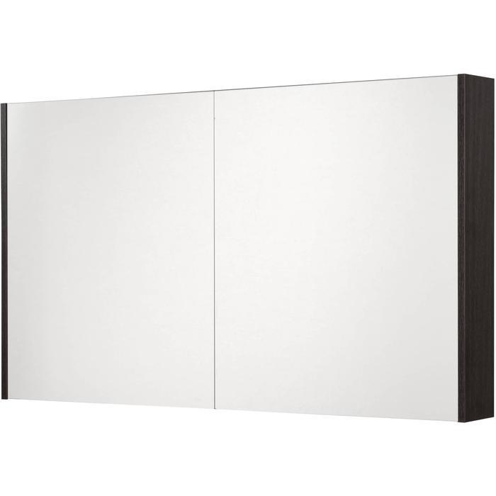 Saqu Salto Spiegelkast 2 deuren 120cm Romi Antraciet