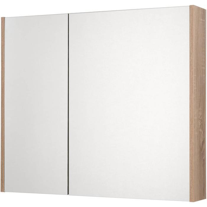 Saqu Salto Spiegelkast 80x70x14 cm bardolino eiken